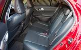 Lexus CT rear seats