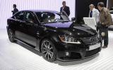Paris motor show: Lexus IS-F