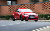 Lexus IS cornering