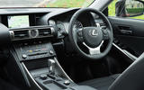 Lexus IS dashboard