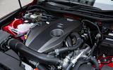 2.0-litre Lexus IS turbocharged petrol engine