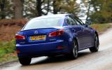 Lexus IS rear quarter