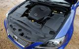 Lexus IS 5.0-litre V8 engine