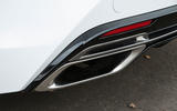 Lexus LC500 chrome dual exhaust system