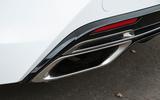 Lexus LC500 chrome dual exhaust system