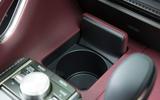 Lexus LC500 cupholder