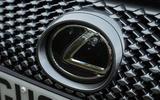 Lexus LC500 badging