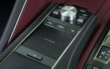Lexus LC500 infotainment touchpad controller