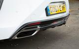 Lexus LC500 rear diffuser