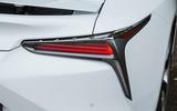 Lexus LC500 rear lights
