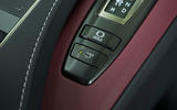 Lexus LC500 rear wing control