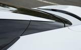 Lexus LC500 sloping roofline