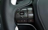 Lexus LC500 steering wheel switches
