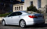 Lexus LS600h updated