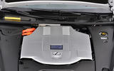 Lexus LS engine bay