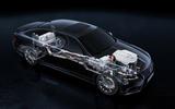 Lexus LS600h powertrain