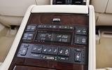 Lexus LS rear centre console