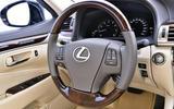 Lexus LS steering wheel
