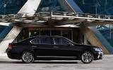Lexus LS460 side profile