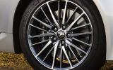 20in Lexus LS460 alloys