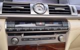 Lexus LS460 centre console