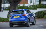 Lexus NX rear cornering