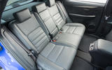 Lexus NX rear seats
