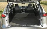 Lexus NX seating flexibility