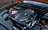 2.0-litre Lexus RC petrol engine