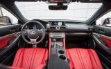 Lexus RC F dashboard