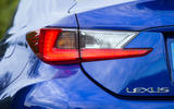 Lexus RC F rear lights