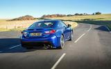 Lexus RC F rear