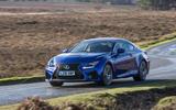 Lexus RC F side profile
