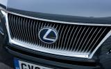 Lexus RX front grille