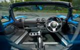 Lotus Elise dashboard