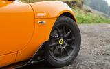 Lotus Elise Cup 250 black alloys