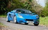 Lotus Elise cornering