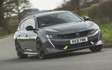 Peugeot 508 Sport Engieneered 2021 road test review - hero front