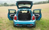 Mini Cooper SD doors open