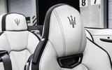 Maserati GranCabrio headrests
