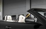 Maserati GranCabrio roof open