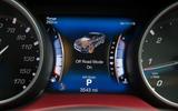 Maserati Levante digital instrument display
