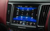 Maserati Levante infotainment system