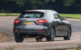 Maserati Levante rear cornering