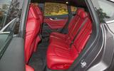 Maserati Levante rear seats