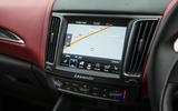 Maserati Levante centre console