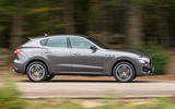 Maserati Levante side profile