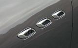 Maserati Levante side vents