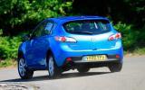 Mazda 3 rear cornering
