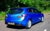 Mazda 3 rear quarter